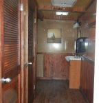 Mens Large Toilet Trailer interior hall