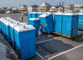 Portable Toilets - Blue
