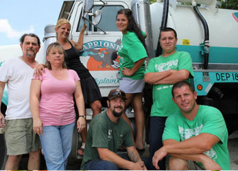 Caprioni Family Septic Team